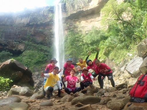 西表島の滝