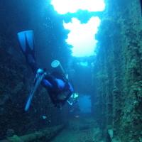 ジープ島の沈船