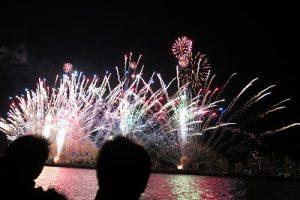 目黒【伊豆山日帰り】ダイビングの後は船上から熱海の花火大会を