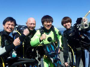 目黒【大瀬崎1泊2日】OWもランクアップも大歓迎!