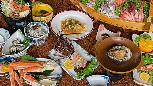 目黒【安良里・雲見1泊2日】お宿の夕食グレードアップだ!ツアー