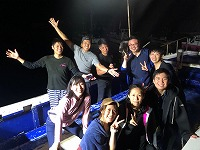 目黒【伊豆山日帰り】ダイビングの後は感動の花火大会!